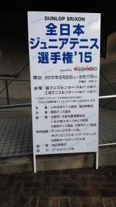 全日本ジュニア選手権2015②