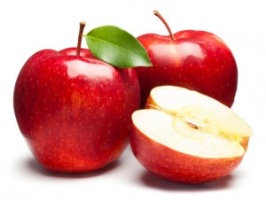"""Red Apples on white. This file is cleaned, retouched and contains"""