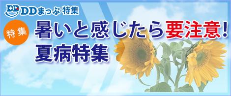 DDまっぷ特集 - 夏病特集2019トップページ